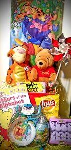 POOH & Tiger Fun  Easter Basket